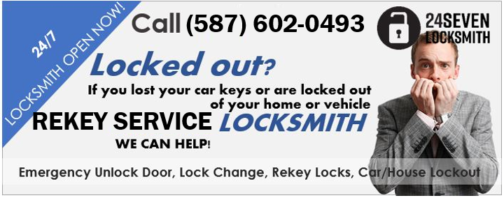 Change Locks or Rekey Calgary